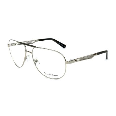 Men's TL330V Optical Frames // Silver + Palladium
