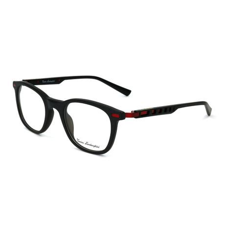 Men's TL310V Optical Frames // Black + Red