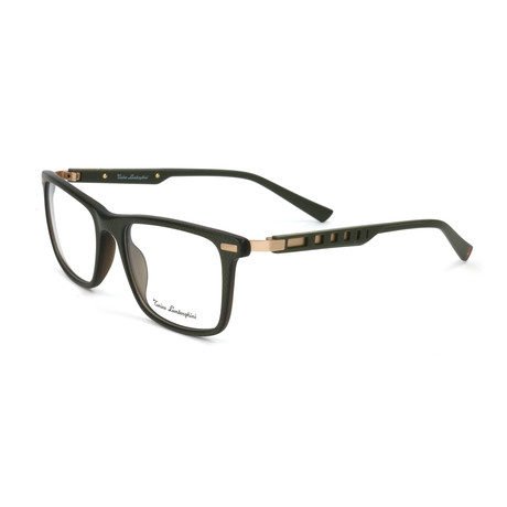 Men's TL312V Optical Frames // Green + Gold