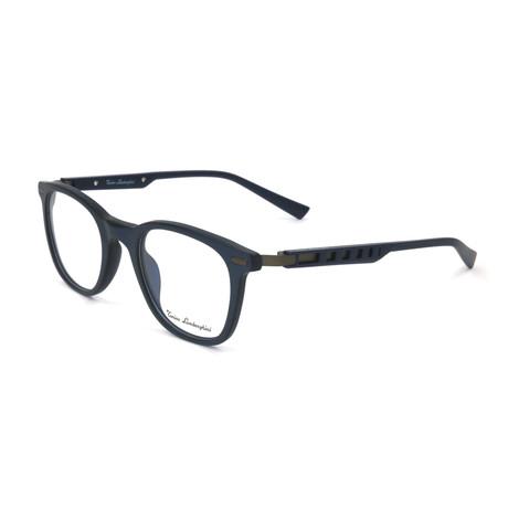 Men's TL310V Optical Frames // Blue + Silver