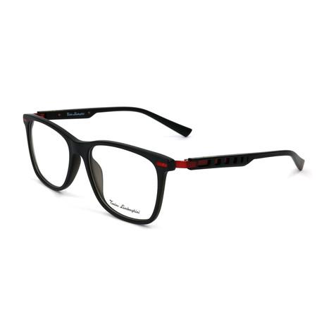 Men's TL309V Optical Frames // Black + Red