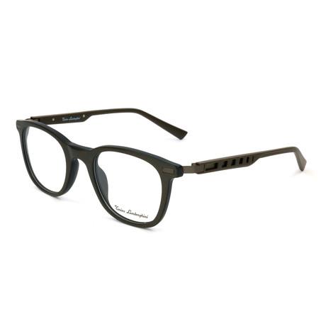 Men's TL310V Optical Frames // Brown + Silver
