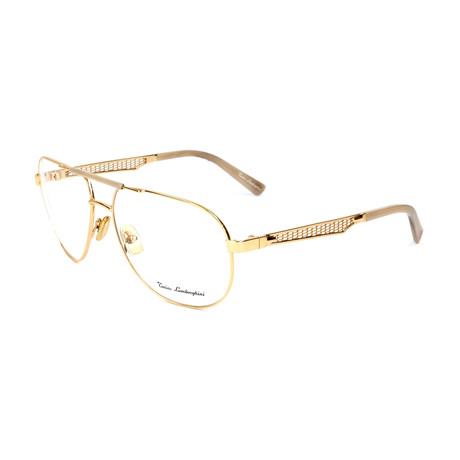 Men's TL330V Optical Frames // Gold