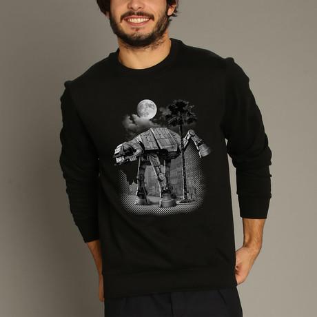 Ata Pee Time Sweatshirt // Black (S)