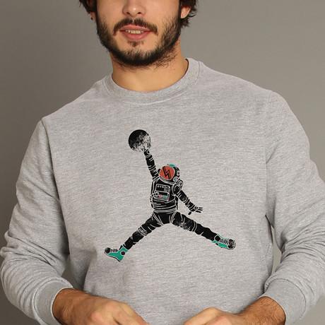 Space Dunk Sweatshirt // Gray (S)