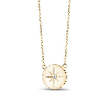 North Star Pendant + Chain // Yellow