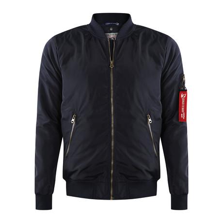 Bomber Coat // Navy (XS)