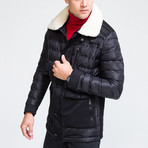 Puff Jacket // Black (S)