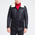 Puff Jacket // Black (2XL)