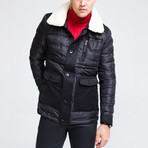 Puff Jacket // Black (L)