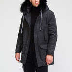 Alaska Coat // Black (M)