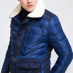Puff Jacket // Navy (S)