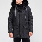 Alaska Coat // Black (XS)