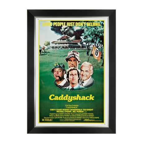 Caddyshack // Framed Movie Poster