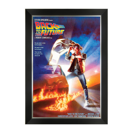 Back To The Future // Framed Movie Poster