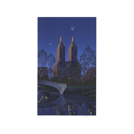 Jim Buckels // San Remo, New York // 1994 Serigraph // SIGNED