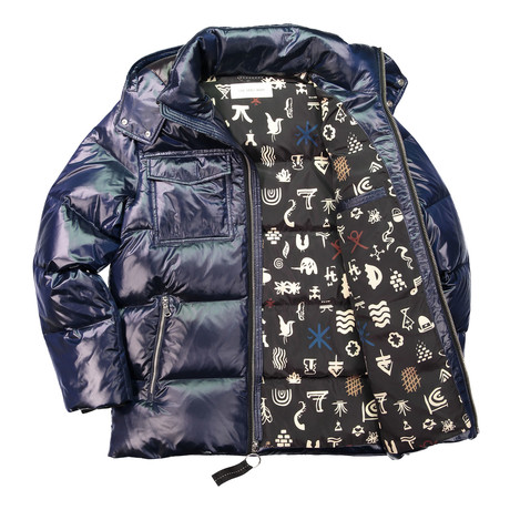 Down Filled Cire Jacket // Ink (XS)