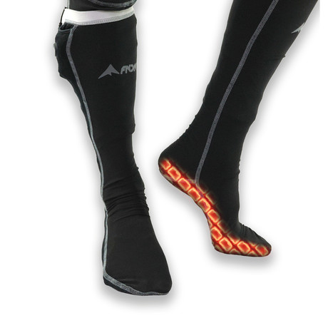 Base Layer Socks // Black (Small / Medium)