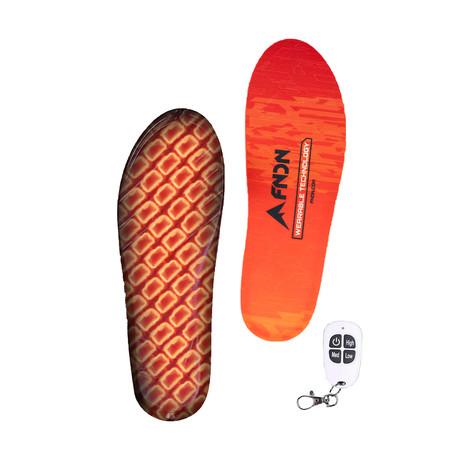 Heated Waterproof Insoles // Orange (Small)