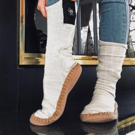 Slipper Socks // Gray (Small / Medium)