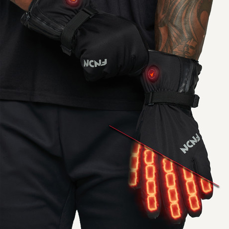 Snow Pro V2 Glove // Black (X-Small)