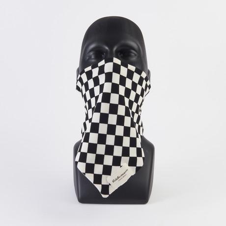 Dogtown Check Maskdanna // Black + White (XS)