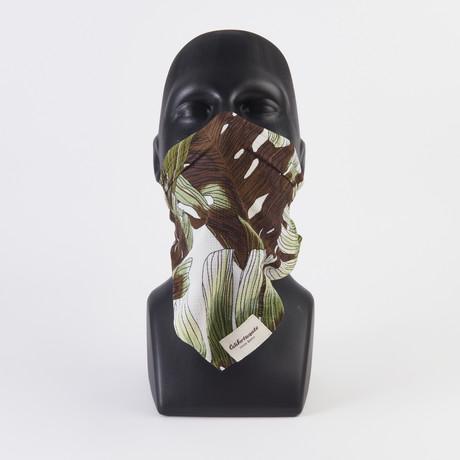 Palm Leaf Maskdanna // Sage (XS)