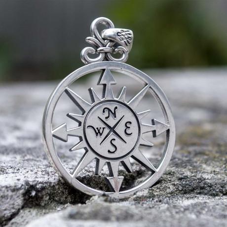 Compass Pendant V2