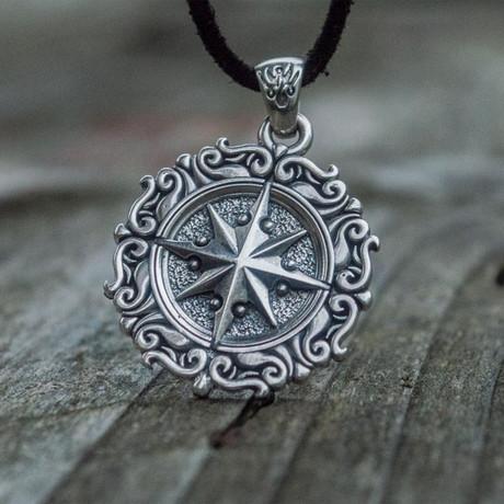 Compass Pendant V3