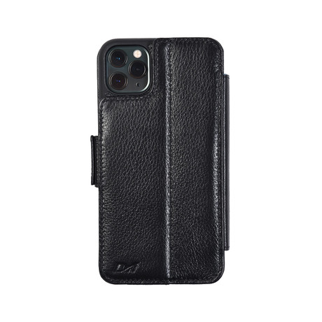 V6 FOLIO Case // Black (iPhone 7/8/SE)