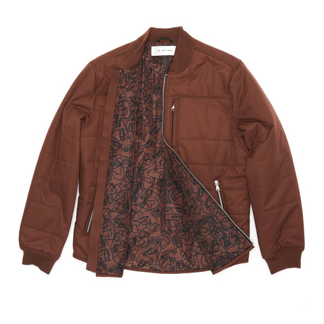 Insulated Shirt Jacket // Brick (XS)