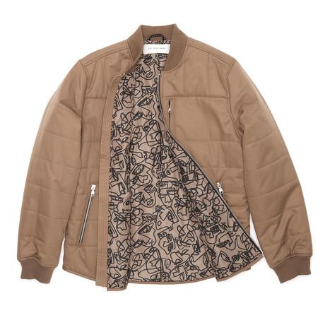 Insulated Shirt Jacket // Camel (XS)