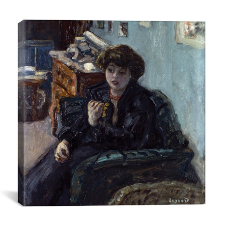 "Bonnard: Lady, 19Th C // Pierre Bonnard (26""W x 26""H x 1.5""D)"