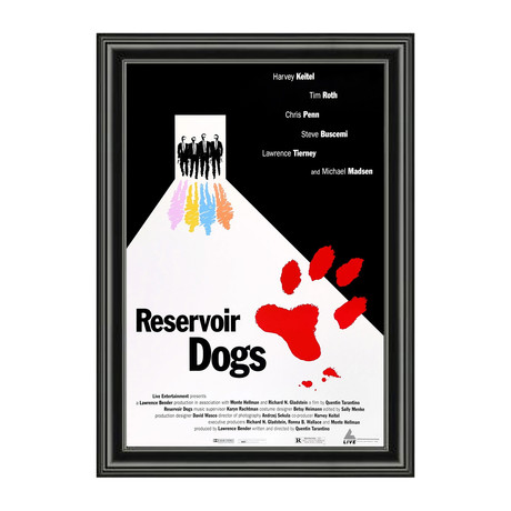 Reservoir Dogs // Framed Art Print
