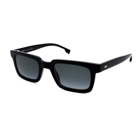 Hugo Boss // Men's 1059-S-807 Square Sunglasses // Black + Gray