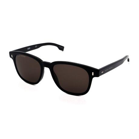 Hugo Boss // Men's 0956-S-807 Sunglasses // Black + Gray