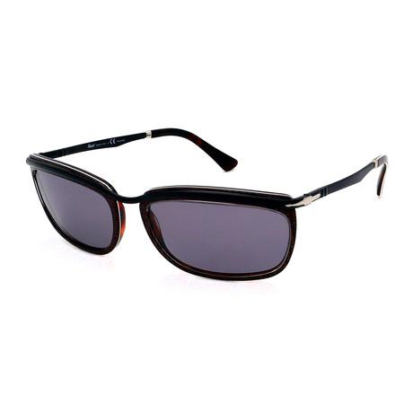 Persol // Men's PO3229S-1091P2 Polarized Sunglasses // Dark Brown + Gray