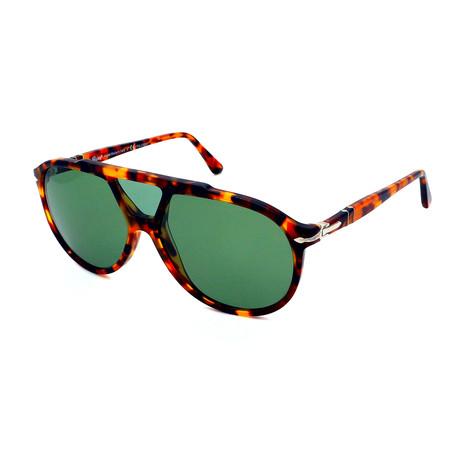 Persol // Men's PO03217S-1052P1 Polarized Sunglasses // Havana + Gray