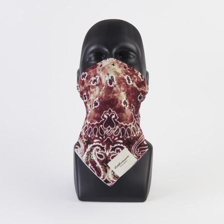 Tie Dye Print Maskdanna // Rust (XS)