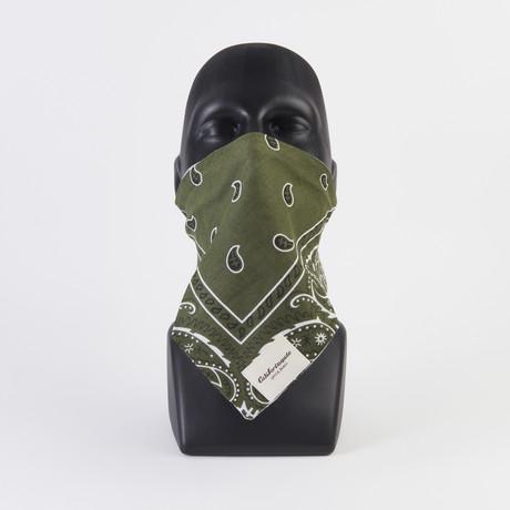 Vintage Wash Maskdanna // Army Green (XS)