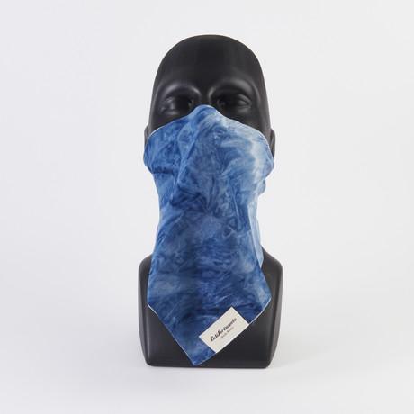 Silky Tie Dye Maskdanna // Blue (XS)