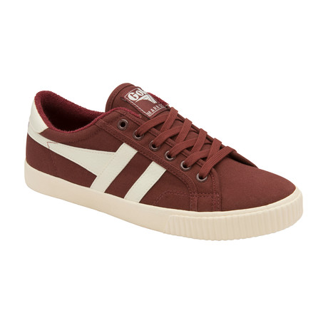 Tennis Mark Cox Shoes // Burgundy + Off White (US: 7)