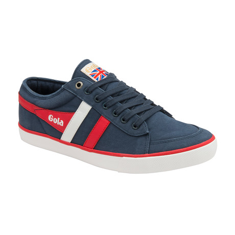 Comet Shoes // Navy + Red + White (US: 7)