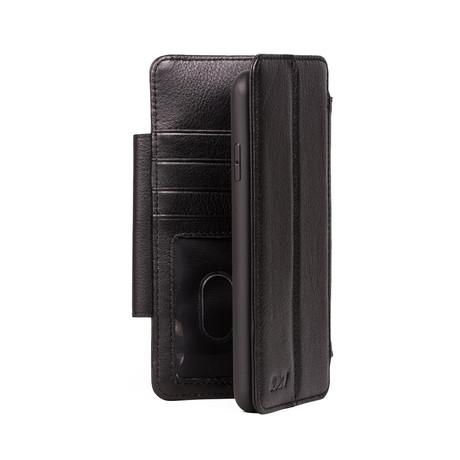 V8 WALLET Case // Black (iPhone 11 Pro)