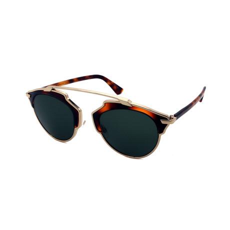 Unisex DIOR-SOREAL-06J Sunglasses // Havana + Gold