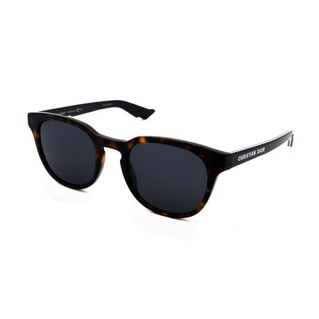 Unisex DIOR-B24-2-0807 Sunglasses // Dark Havana + Gray Gradient