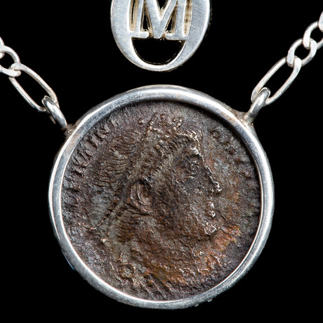 Authentic Roman Coin Necklace Set // Emperor Constantine (306-337 AD) // V3
