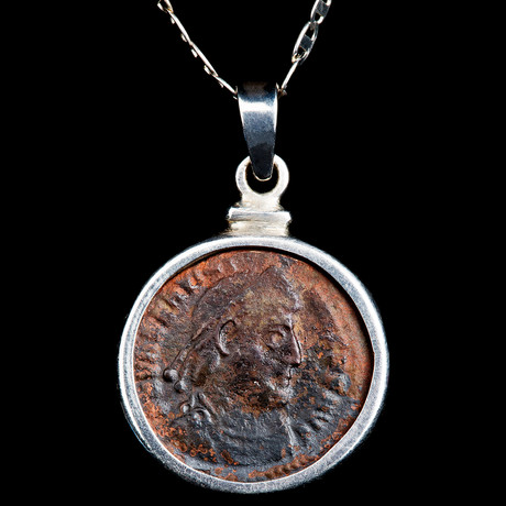 Authentic Roman Coin Necklace Set // Emperor Valens (364-378 AD) // V3