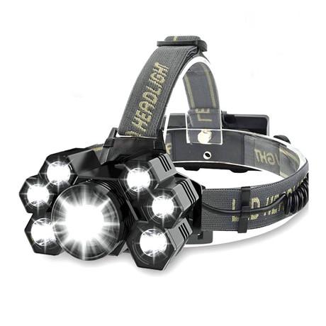 USB Rechargeable Headlamp // 7 Lights