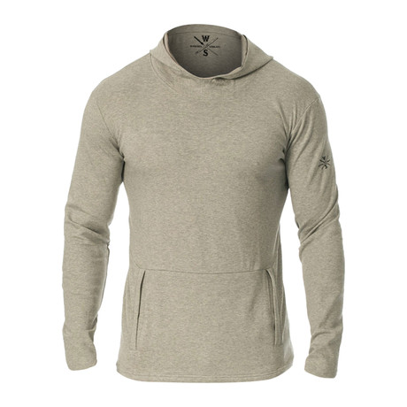 Everyday Ultra Soft Hooded Pullover // Gray (S)
